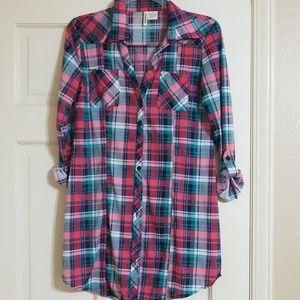 Cute flannel dress